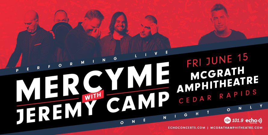 2018 MercyMe & Jeremy Camp